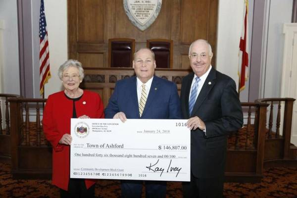 City of Ashford Recieves Grant Money