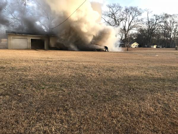 7:12 AM.  Hooper Cherry Road Structure Fire