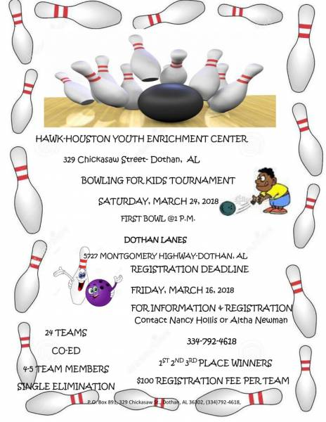 Bowling for Kids Tournament