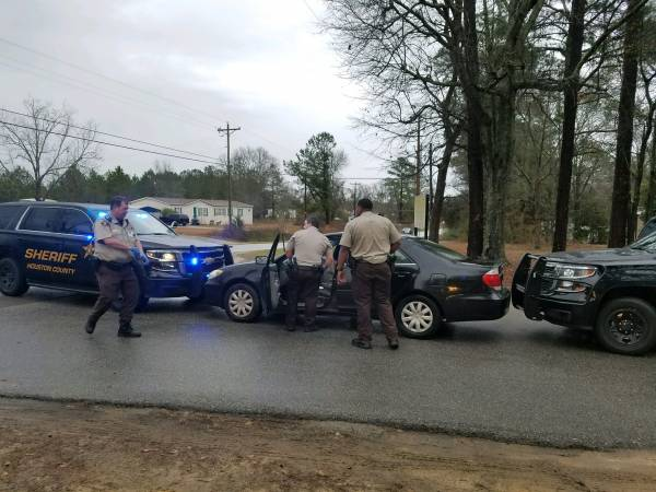 Person Down Call at Coggins Lands One in Jail