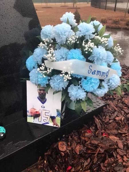 Remembering Sammy DeMondra Jackson at the ANGEL OF HOPE