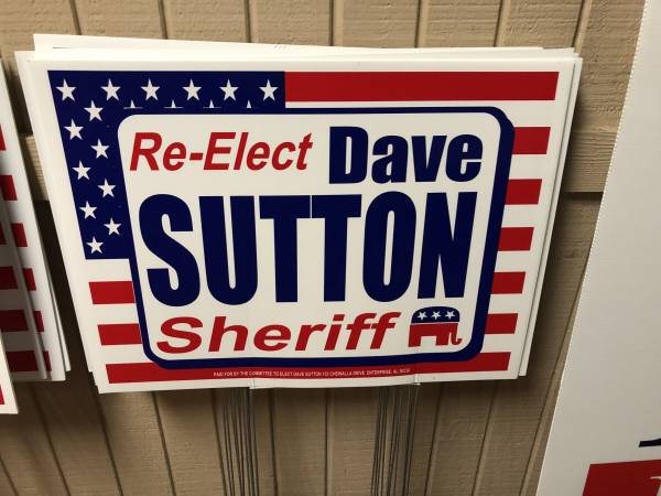 Coffee County Sheriff Dave Sutton Makes Announcement For Fourth Term As Sheriff