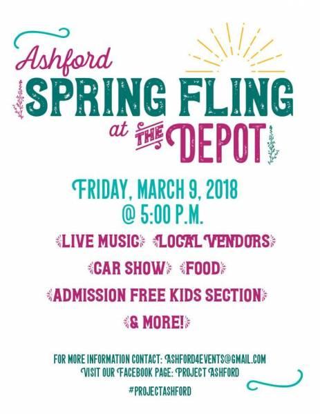 Ashford Spring Fling at the Depot