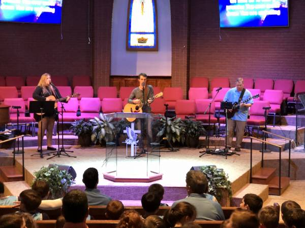 Several Key Components For Church Services - Also Some Of Brantley's Favorites