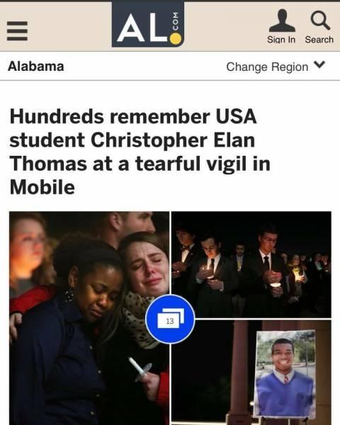 Remembering Christopher Elan Thomas