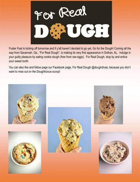 For Real Dough
