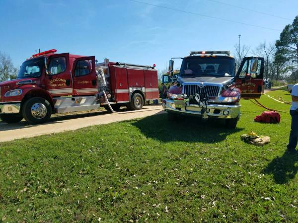 Geneva County Structure Fire