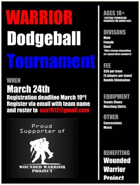 WARRIOR Dodgeball Tournament