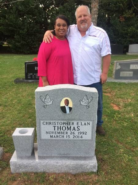 A Mother Finally Has Headstone For Her Beloved Son