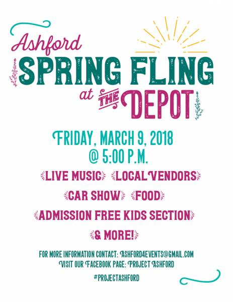 The Ashford Spring Fling is Tonight!!!
