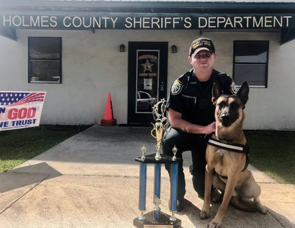 HCSO'S 'LASSO' AMONG TOP DOGS AT K9 COMPETITION