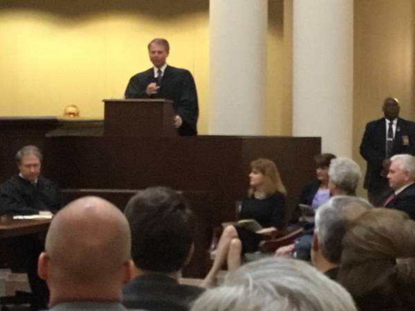 Brad Mendheim INVESTITURE as Associate Justice of the Alabama Supreme Court