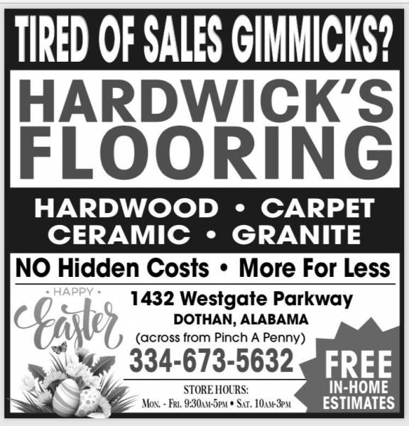 Happy Easter From Hardwick's Flooring