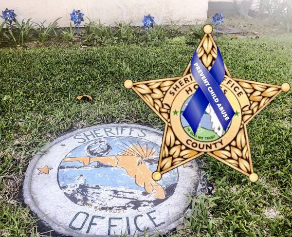 Holmes County Sheriff's Office Observes Child Abouse Prevention Month