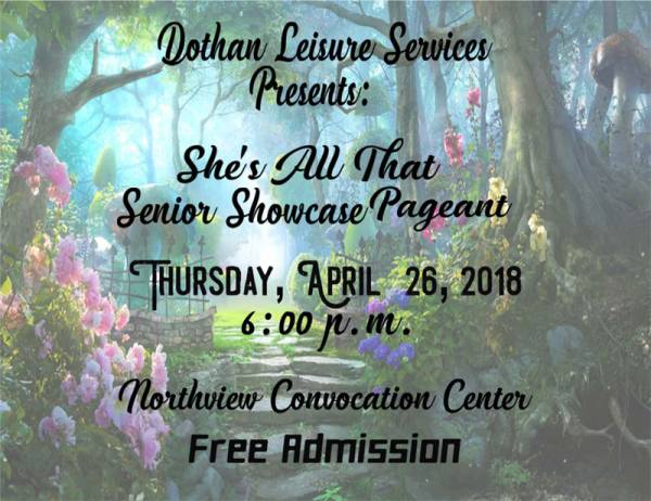 2018 SHE'S ALL THAT SENIOR SHOWCASE PAGEANT