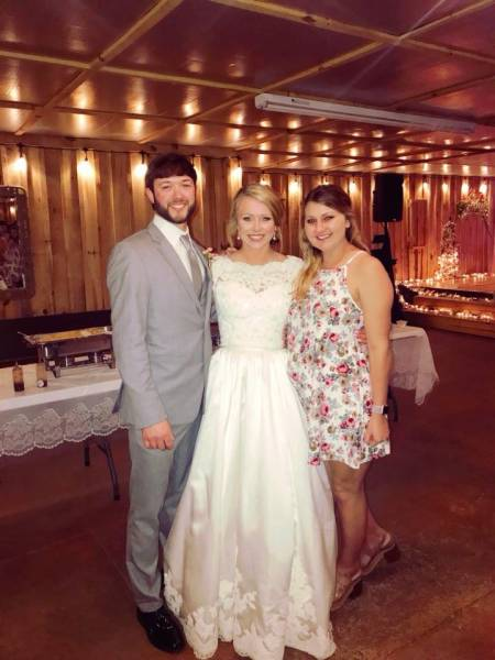 Congratulations To Mr. and Mrs. Cody Love