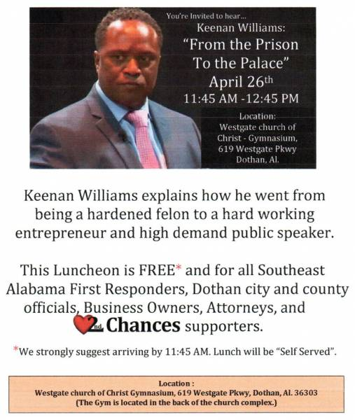Keenan Williams: From Prison to the Palace