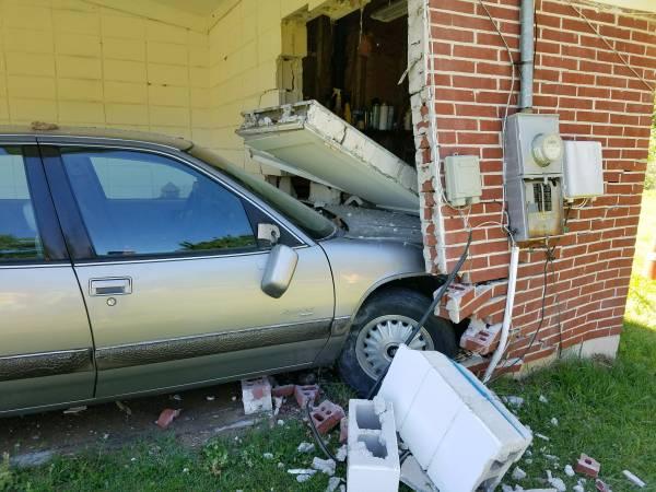 1:46 PM... Vehicle vs House on Pine Tree Street in Cottonwood