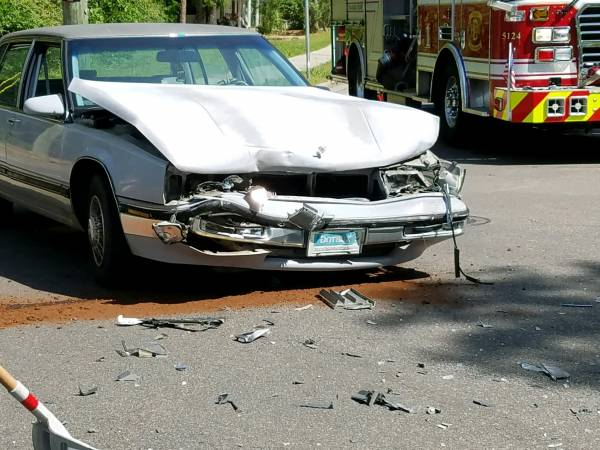 10:05 AM... Motor Vehicle Accident St Andrews and Franklin Street