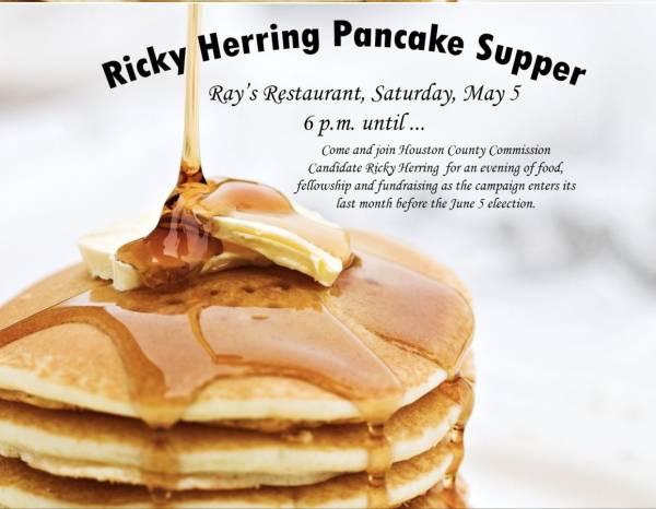 Pancake Supper Tomorrow Night