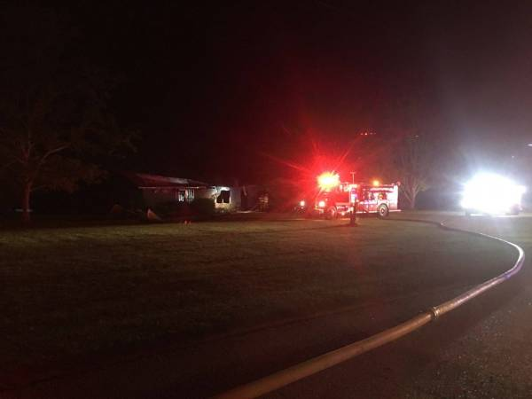 Early Morning House Fire Destrpys a Geneva County Home