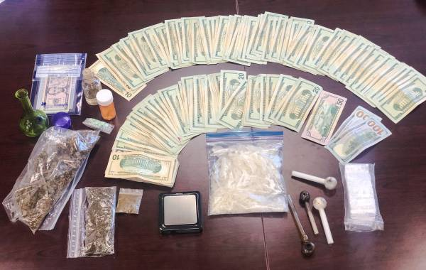 WESTVILLE MAN ARRESTED FOR DRUG TRAFFICKING