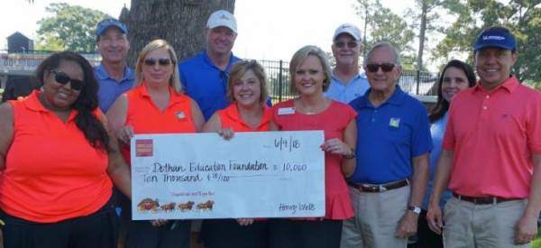 Dothan Education Foundation Receives Grant from Wells Fargo Foundation