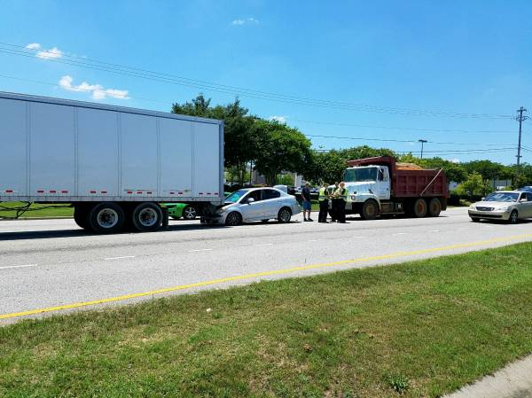 12:18 PM....Motor Vehicle Accident in the 4400 Block of Montgomery Hwy