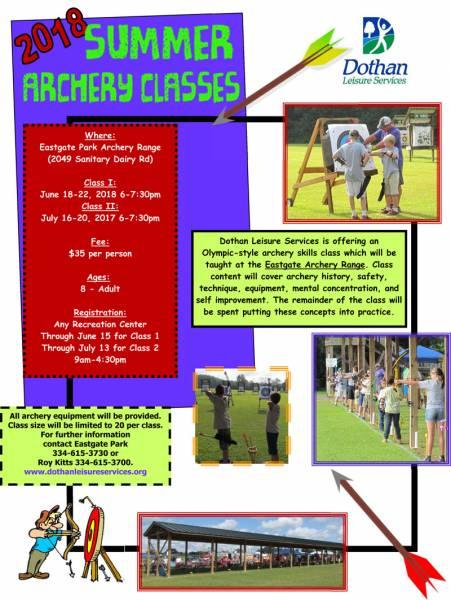 Summer Archery Class