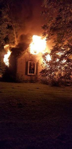 Tuesday Structure Fire In Elba