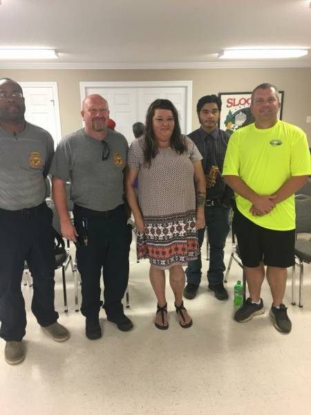 Slocomb Fire Rescue Gets Patient Visit To Say THANKS