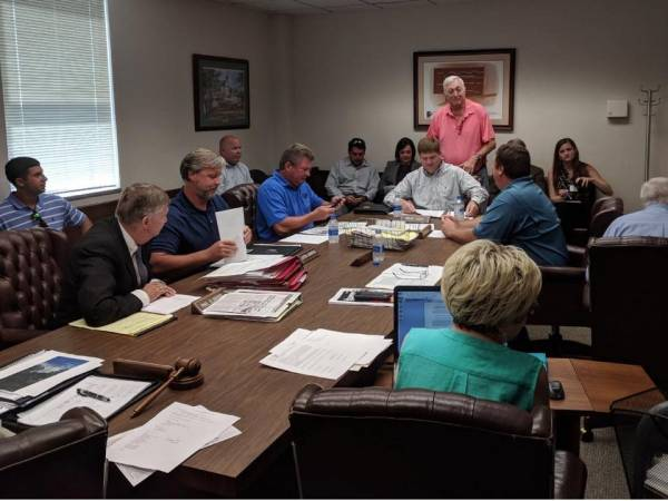 Geneva County Commission Accepts Supt. Birdsong's Proposal
