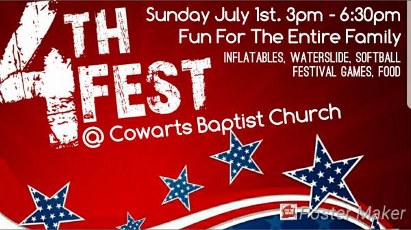 Cowarts Baptist Church July Fest