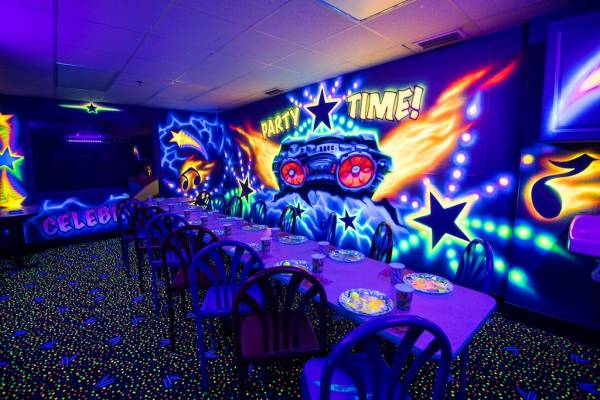 Fun Zone Skate Center - Newly Remodeled Party Rooms!