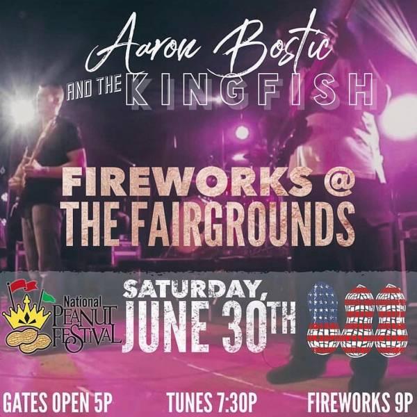 Fireworks Show Tonight National Peanut Festival