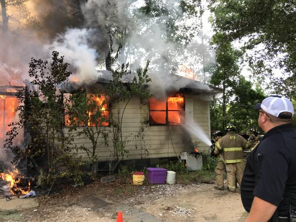 4:08 PM   Structure Fire - House Occupied