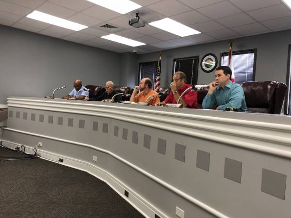 10:00 AM.   Houston County Commission Meeting - Five New School Resource Deputies