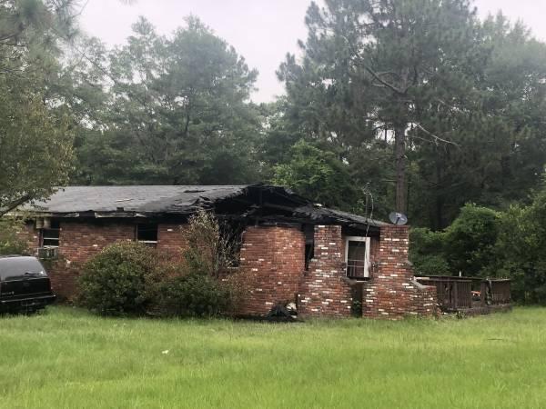 5:17 AM.   Dothan Fire Responds To A Structure Fire