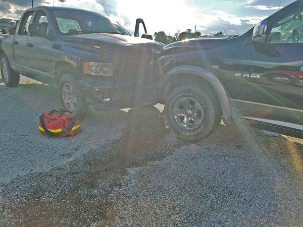 Two RAMs Hit Head-On at Us 84 and Jester