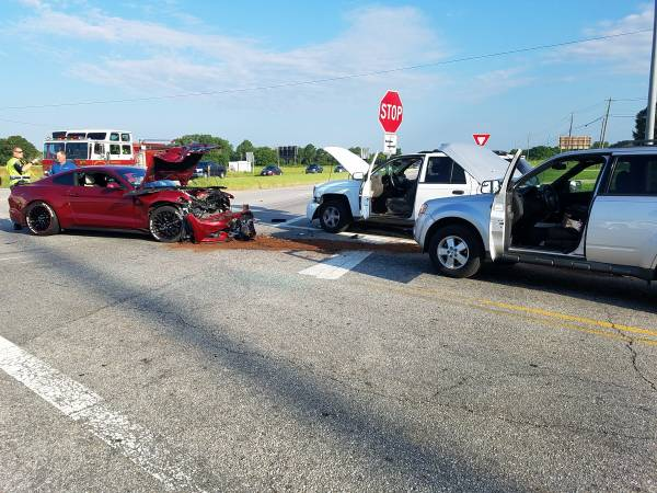 UPDATED at 07:40 AM.   Three Vehicle Accident Highway 231 and Dale County Road 10