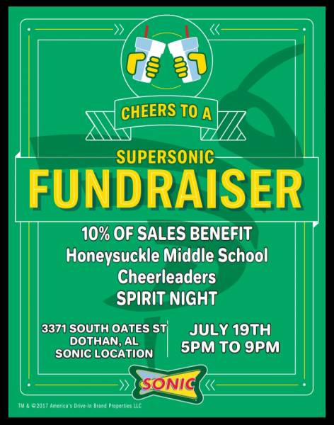Honeysuckle Middle School Host a Fundraiser