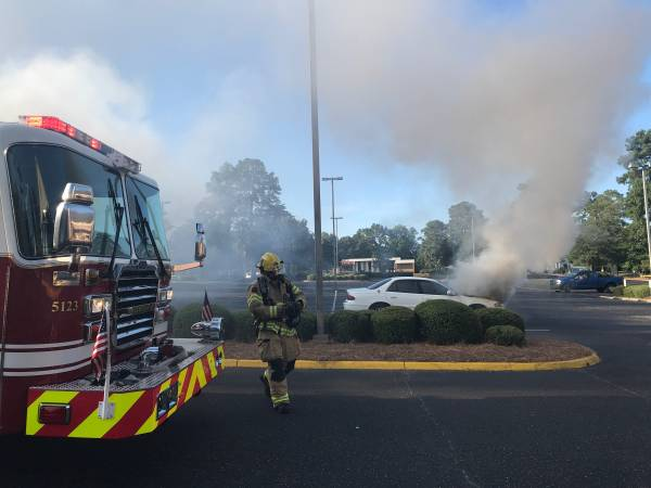 Vehicle Fire on W Main