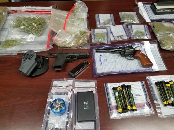 Sheriff Valenza held Press Conference on Large Drug Bust on Creekwood