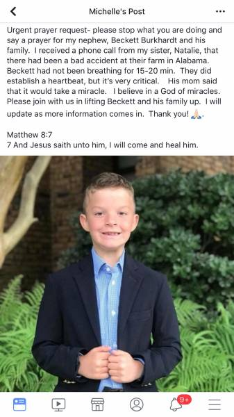 URGENT PRAYER REQUEST