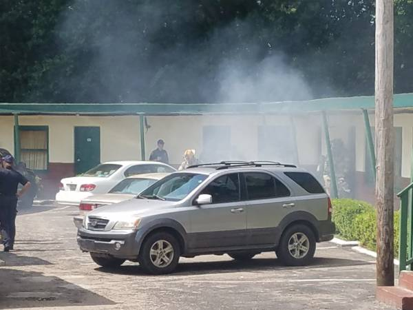 10:14 AM... Structure Fire at Dothan Motor Lodge