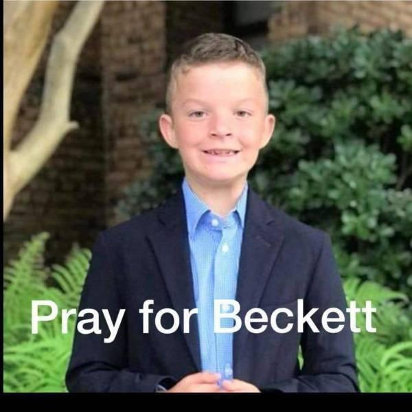 3:40 PM... 8 Year Old Beckett Burkhardt has Passed Away