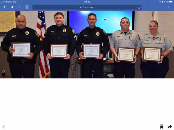 Dothan Police Promotions