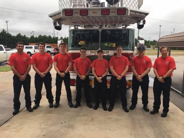 Eight New Dothan Fireman Begin The Training