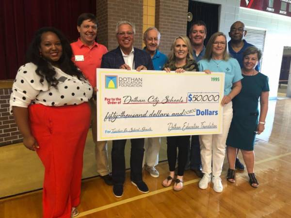 Dothan Education Foundation Awards 2018-2019 Teacher and School Grants