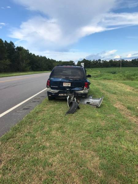 4:33 PM... Motor Vehicle Accident at Hwy 52 and Benton Store Road